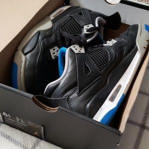 Air Jordan 4 Retro BG- Boy's